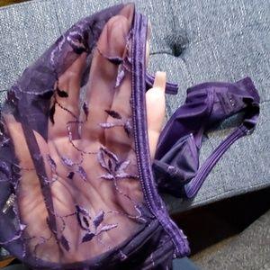 Cacique Intimates & Sleepwear - Sexy Sensual Cacique Dark Purple 38DD Sheer